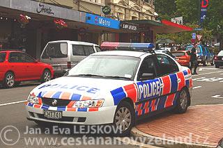 Nový Zéland - pokuty za rychlost jsou na Novém Zélandu vysoké